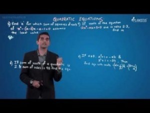 Quadratic Equations And Inequalities - Illustrations-IV Video By Plancess