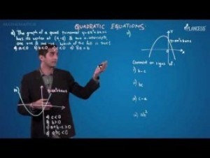 Quadratic Equations And Inequalities - Illustrations-V Video By Plancess