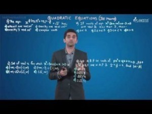 Quadratic Equations And Inequalities - Jee Mains Problems-I Video By Plancess