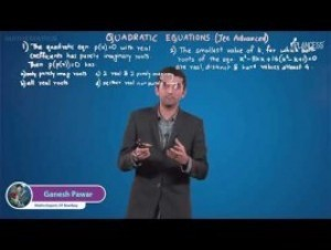 Quadratic Equations And Inequalities - Jee Mains Problems-II Video By Plancess