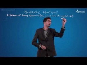 Quadratic Equations And Inequalities - Methods Of Solving QE Video By Plancess