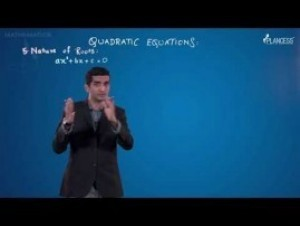 Quadratic Equations And Inequalities - Nature Of The Roots Video By Plancess
