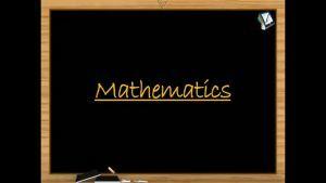 Quadratic Equations - Graph Of Quadratic Expression (Session 6)
