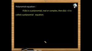 Quadratic Equations - Polynomial Equation And Root of Polynomial Equation (Session 1)