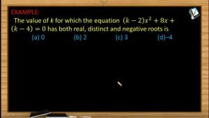 Quadratic Equations - Problems 2 (Session 7 & 8)