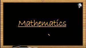 Quadratic Equations - Rational Quadratic Functions (Session 9)
