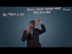 Qualitative Analysis - Acidic Radicals-II Video By Plancess