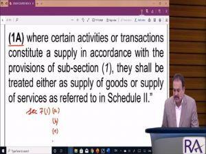 Day 1 CA/CMA/CS Final Indirect Tax Laws Crash Course Part-2