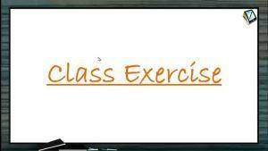 Ray Optics - Class Exercise-I (Session 11, 12 & 13)
