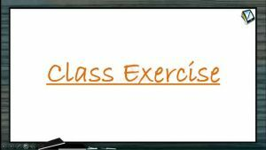 Ray Optics - Class Exercise Part-1 (Session 15 & 16)