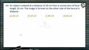 Ray Optics - Class Exercise Part-3 (Session 15 & 16)