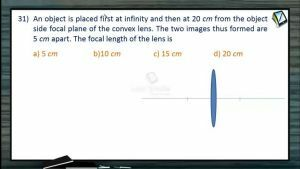 Ray Optics - Class Exercise Part-4 (Session 15 & 16)