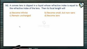 Ray Optics - Class Exercise Part-6 (Session 15 & 16)