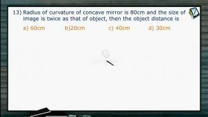 Ray Optics - Class Exercise Part-II (Session 5, 6 & 7)