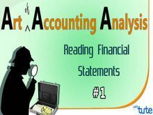 Class 11 & 12 Accountancy - Reading Financial Statement Video by Let's Tute
