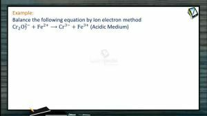 Redox Reactions - Examples (Session 5)