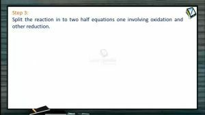 Redox Reactions - Ion Electron Method Step-3 (Session 5)
