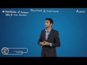 Relation And Functions - Classification Of Functions-III Video By Plancess