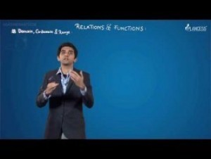 Relation And Functions - Domain - Co-Domain And Range Video By Plancess
