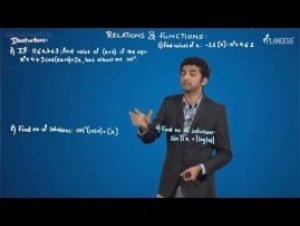 Relation And Functions - Illustrations-I Video By Plancess