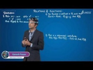 Relation And Functions - Illustrations-II Video By Plancess