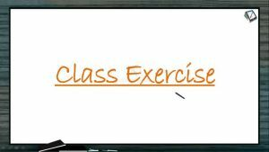 Reproduction In Organisms - Class Exercise (Session 2)