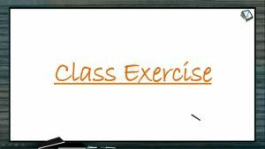 Respiration - Class Exercise (Session 1)