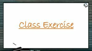 Respiration - Class Exercise (Session 3)