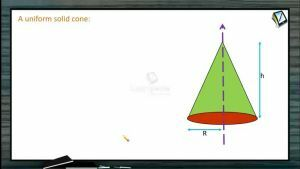 Rotational Motion - Moment Of Inertia Of A Uniform Solid Cone (Session 5)