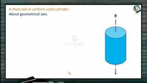Rotational Motion - Moment Of Inertia Of A Uniform Solid Cylinder (Session 5)