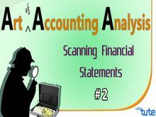 Class 11 & 12 Accountancy - Scanning Financial Statement Video by Let's Tute