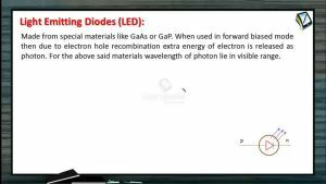 Semiconductors - Light Emitting Diodes (Session 2)