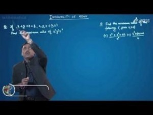 Sequences And Series - Inequalities Of Mean-IV Video By Plancess