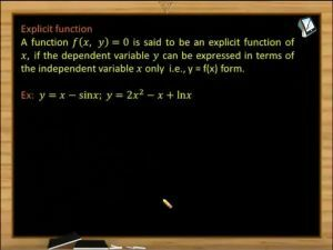 Sets, Relations And Functions - Explicit Function (Session 1)