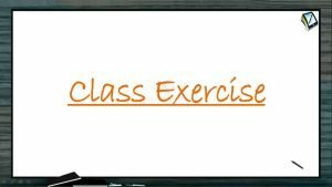 Simple Harmonic Motion - Class Exercise (Session 1)