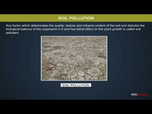 Class 11 Chemistry - Soil Pollution Video by MBD Publishers