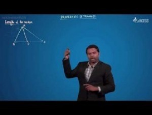 Solutions Of Triangle - Length Of The Median Video By Plancess