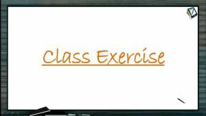 Sound Waves - Class Exercise (Session 8)