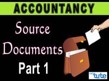 Class 11 Accountancy - Source Documents Part-I Video by Let's Tute
