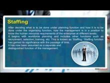 Class 12 Business - Staffing Video by MBD Publishers