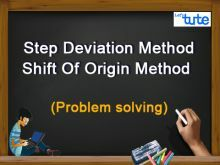 Class 10 Mathematics - Statistics - Mean Of Grouped Data - Step Deviation Method Video by Lets Tute