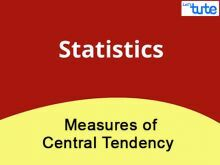 Class IX Maths - Statistics - Measures Of Central Tendency Video By Lets Tute