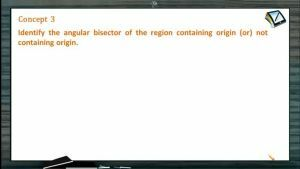 Straight Lines - Identify The Angular Bisector Of Region Containing Origin Or Not (Session 7)