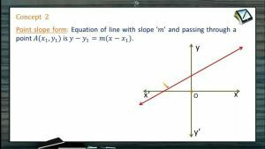 Straight Lines - Point Slope Form (Session 2)