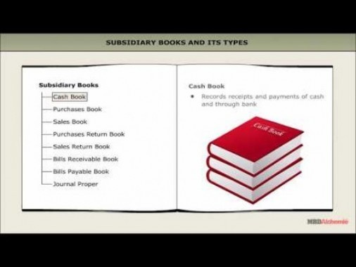 Class 11 Accounts - Subsidiary Books - Cash Book Video by MBD Publishers