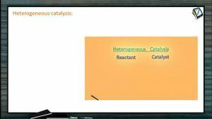Surface Chemistry - Heterogeneous Catalysis (Session 2)