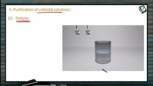 Surface Chemistry - Purification Of Colloids (Session 3)