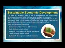 Class 11 Economics - Sustainable Economic Development Video by MBD Publishers