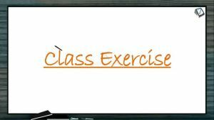 The Living World - Class Exercise (Session 2)