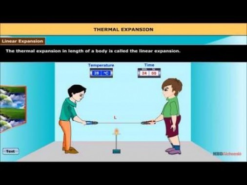 Class 11 Physics - Thermal Expansion Video by MBD Publishers
